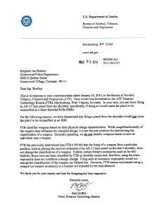 bradley letter