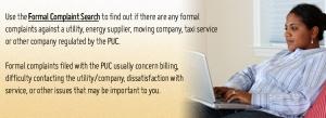 PaPUC Seach Complaints