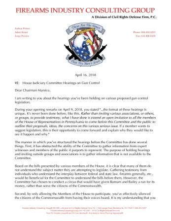 Adam Kraut's Letter